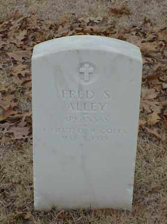 ALLEY (VETERAN), FRED S - Pulaski County, Arkansas | FRED S ALLEY (VETERAN) - Arkansas Gravestone Photos
