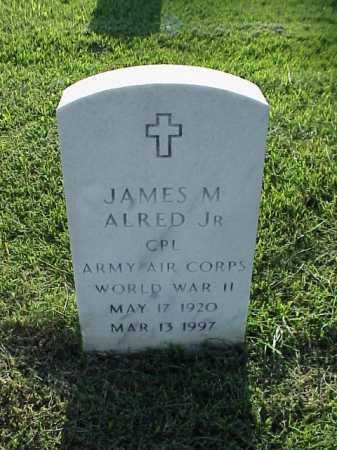 ALRED, JR (VETERAN WWII), JAMES M - Pulaski County, Arkansas | JAMES M ALRED, JR (VETERAN WWII) - Arkansas Gravestone Photos