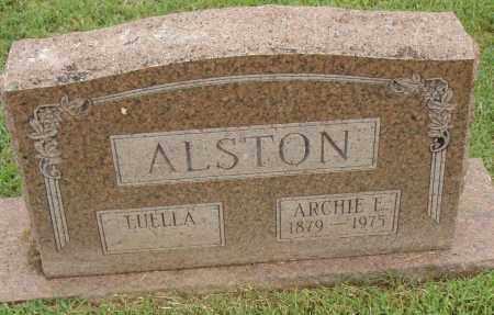ALSTON, ARCHIE E. - Pulaski County, Arkansas | ARCHIE E. ALSTON - Arkansas Gravestone Photos