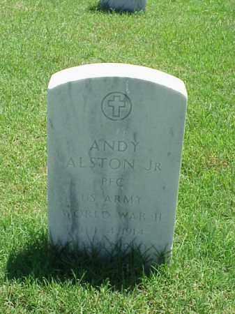 ALSTON, JR (VETERAN WWII), ANDY - Pulaski County, Arkansas | ANDY ALSTON, JR (VETERAN WWII) - Arkansas Gravestone Photos