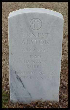 ALSTON (VETERAN KOR), ERNEST - Pulaski County, Arkansas | ERNEST ALSTON (VETERAN KOR) - Arkansas Gravestone Photos