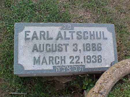 ALTSCHUL, EARL - Pulaski County, Arkansas | EARL ALTSCHUL - Arkansas Gravestone Photos