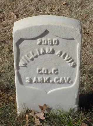 ALVIS (VETERAN UNION), WILLIAM - Pulaski County, Arkansas | WILLIAM ALVIS (VETERAN UNION) - Arkansas Gravestone Photos