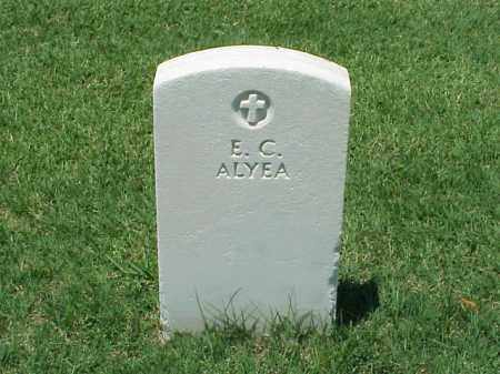 ALYEA (VETERAN UNION), E C - Pulaski County, Arkansas | E C ALYEA (VETERAN UNION) - Arkansas Gravestone Photos