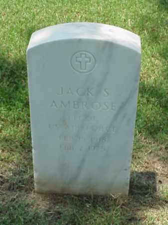 AMBROSE (VETERAN), JACK S - Pulaski County, Arkansas | JACK S AMBROSE (VETERAN) - Arkansas Gravestone Photos