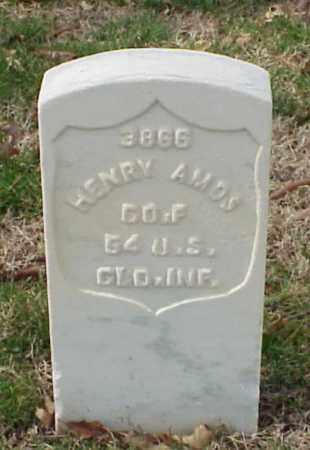 AMOS (VETERAN UNION), HENRY - Pulaski County, Arkansas | HENRY AMOS (VETERAN UNION) - Arkansas Gravestone Photos