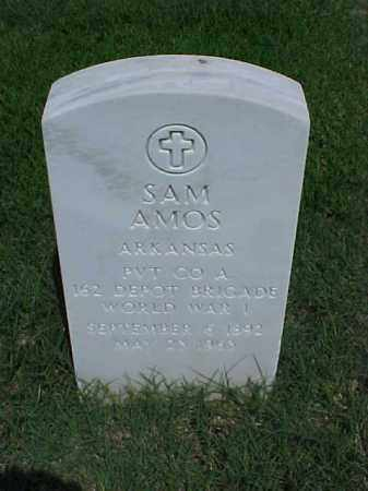 AMOS (VETERAN WWI), SAM - Pulaski County, Arkansas | SAM AMOS (VETERAN WWI) - Arkansas Gravestone Photos
