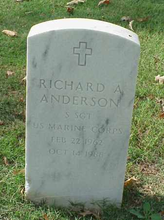 ANDERSON  (VETERAN), RICHARD A - Pulaski County, Arkansas | RICHARD A ANDERSON  (VETERAN) - Arkansas Gravestone Photos