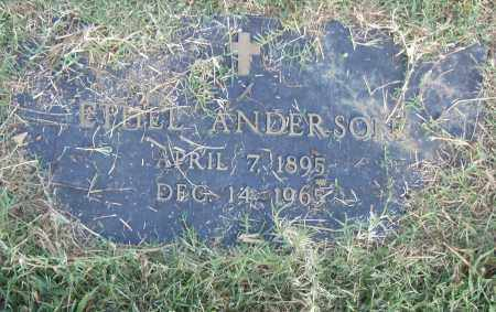 ANDERSON, ETHEL - Pulaski County, Arkansas | ETHEL ANDERSON - Arkansas Gravestone Photos