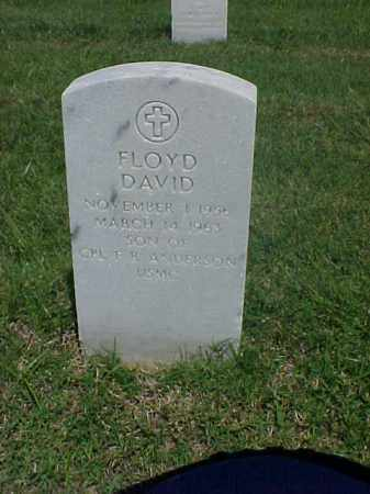 ANDERSON, FLOYD DAVID - Pulaski County, Arkansas | FLOYD DAVID ANDERSON - Arkansas Gravestone Photos