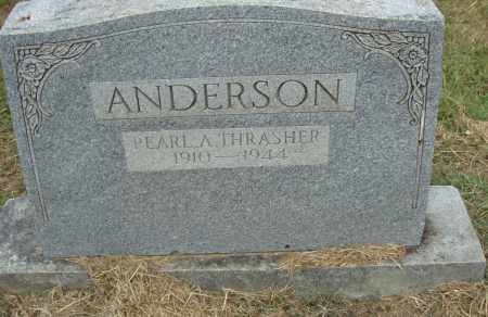 THRASHER ANDERSON, PEARL A. - Pulaski County, Arkansas | PEARL A. THRASHER ANDERSON - Arkansas Gravestone Photos