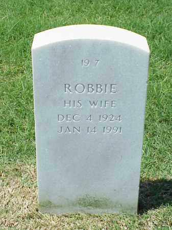 ANDERSON, ROBBIE - Pulaski County, Arkansas | ROBBIE ANDERSON - Arkansas Gravestone Photos