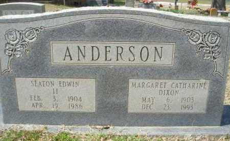 ANDERSON, MARGARET CATHARINE - Pulaski County, Arkansas | MARGARET CATHARINE ANDERSON - Arkansas Gravestone Photos