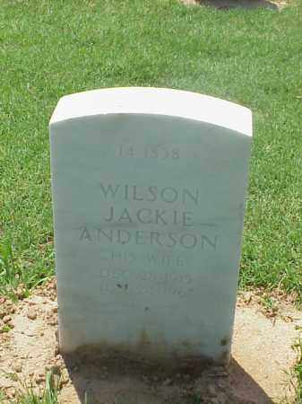 WADE, WILSON JACKIE - Pulaski County, Arkansas | WILSON JACKIE WADE - Arkansas Gravestone Photos