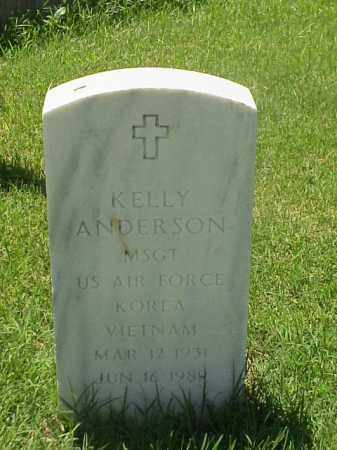 ANDERSON (VETERAN 2WARS), KELLY - Pulaski County, Arkansas | KELLY ANDERSON (VETERAN 2WARS) - Arkansas Gravestone Photos
