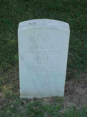 ANDERSON (VETERAN), LELAN - Pulaski County, Arkansas | LELAN ANDERSON (VETERAN) - Arkansas Gravestone Photos