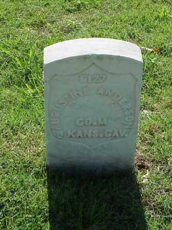 ANDERSON (VETERAN UNION), AUGUSTINE - Pulaski County, Arkansas | AUGUSTINE ANDERSON (VETERAN UNION) - Arkansas Gravestone Photos