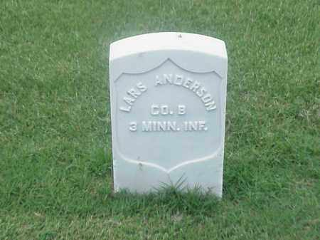 ANDERSON (VETERAN UNION), LARS - Pulaski County, Arkansas | LARS ANDERSON (VETERAN UNION) - Arkansas Gravestone Photos