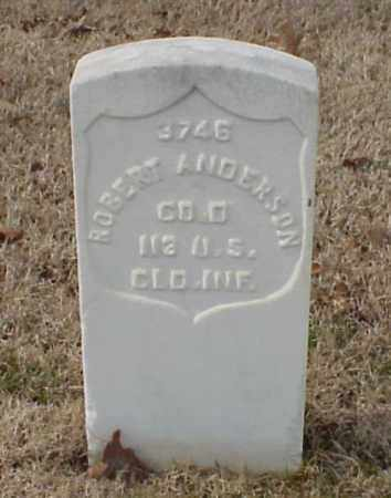 ANDERSON (VETERAN UNION), ROBERT - Pulaski County, Arkansas | ROBERT ANDERSON (VETERAN UNION) - Arkansas Gravestone Photos