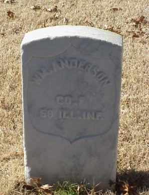 ANDERSON (VETERAN UNION), WILLIAM - Pulaski County, Arkansas | WILLIAM ANDERSON (VETERAN UNION) - Arkansas Gravestone Photos