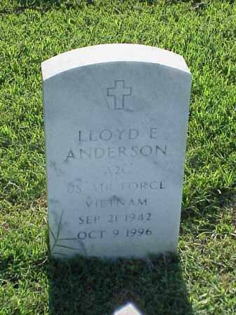 ANDERSON (VETERAN VIET), LLOYD E - Pulaski County, Arkansas | LLOYD E ANDERSON (VETERAN VIET) - Arkansas Gravestone Photos