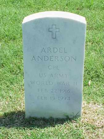 ANDERSON (VETERAN WWII), ARDEL - Pulaski County, Arkansas | ARDEL ANDERSON (VETERAN WWII) - Arkansas Gravestone Photos