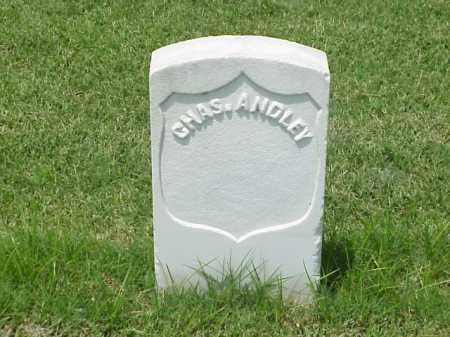 ANDLEY (VETERAN UNION), CHARLES - Pulaski County, Arkansas | CHARLES ANDLEY (VETERAN UNION) - Arkansas Gravestone Photos