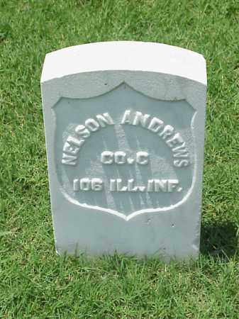 ANDREWS (VETERAN UNION), NELSON - Pulaski County, Arkansas | NELSON ANDREWS (VETERAN UNION) - Arkansas Gravestone Photos