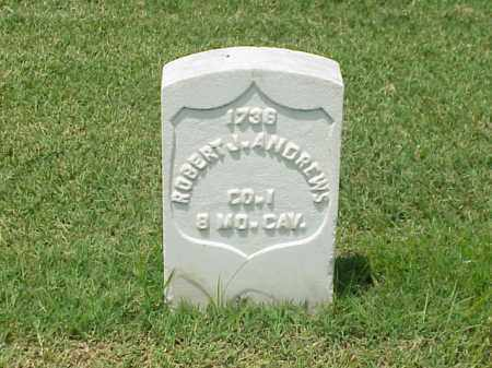 ANDREWS (VETERAN UNION), ROBERT J - Pulaski County, Arkansas | ROBERT J ANDREWS (VETERAN UNION) - Arkansas Gravestone Photos