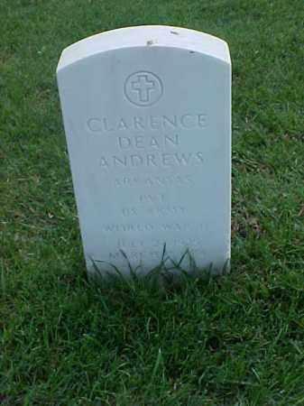 ANDREWS (VETERAN WWII), CLARENCE DEAN - Pulaski County, Arkansas | CLARENCE DEAN ANDREWS (VETERAN WWII) - Arkansas Gravestone Photos