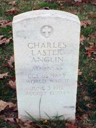 ANGLIN (VETERAN WWII), CHARLES LASTER - Pulaski County, Arkansas | CHARLES LASTER ANGLIN (VETERAN WWII) - Arkansas Gravestone Photos