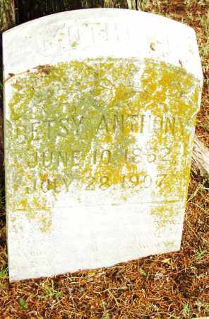 ANTHONY, BETSY - Pulaski County, Arkansas | BETSY ANTHONY - Arkansas Gravestone Photos