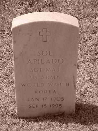 APILADO (VETERAN 2 WARS), SOL - Pulaski County, Arkansas | SOL APILADO (VETERAN 2 WARS) - Arkansas Gravestone Photos