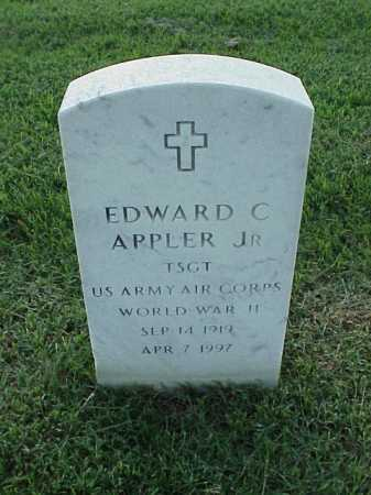 APPLER, JR (VETERAN WWII), EDWARD C - Pulaski County, Arkansas | EDWARD C APPLER, JR (VETERAN WWII) - Arkansas Gravestone Photos