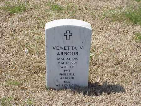 ARBOUR, VENETTA V - Pulaski County, Arkansas | VENETTA V ARBOUR - Arkansas Gravestone Photos