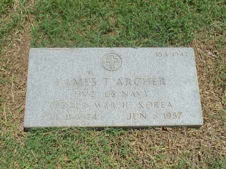 ARCHER (VETERAN 2WARS), JAMES TRAVIS - Pulaski County, Arkansas | JAMES TRAVIS ARCHER (VETERAN 2WARS) - Arkansas Gravestone Photos