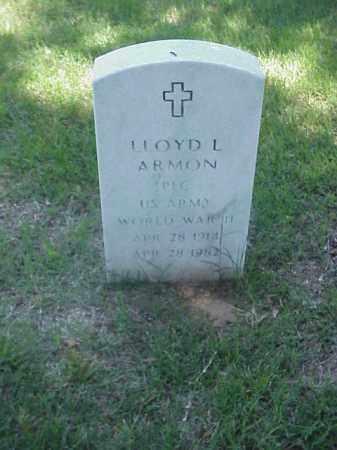 ARMON (VETERAN WWII), LLOYD L - Pulaski County, Arkansas | LLOYD L ARMON (VETERAN WWII) - Arkansas Gravestone Photos