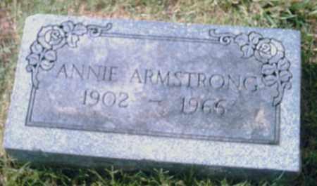 ARMSTRONG, ANNIE - Pulaski County, Arkansas | ANNIE ARMSTRONG - Arkansas Gravestone Photos