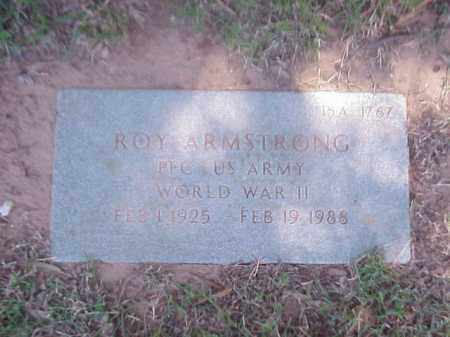 ARMSTRONG (VETERAN WWII), ROY - Pulaski County, Arkansas | ROY ARMSTRONG (VETERAN WWII) - Arkansas Gravestone Photos