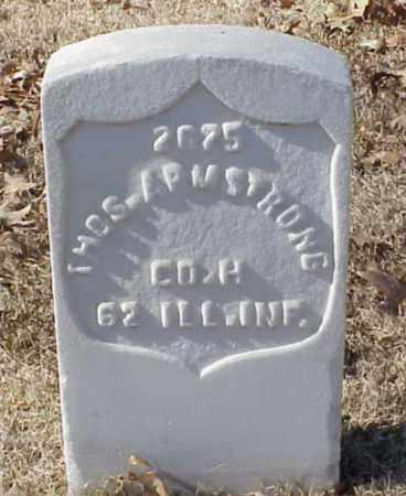 ARMSTRONG (VETERAN UNION), THOMAS - Pulaski County, Arkansas | THOMAS ARMSTRONG (VETERAN UNION) - Arkansas Gravestone Photos