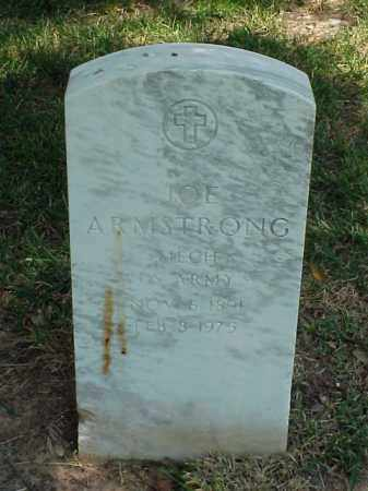 ARMSTRONG (VETERAN WWI), JOE - Pulaski County, Arkansas | JOE ARMSTRONG (VETERAN WWI) - Arkansas Gravestone Photos