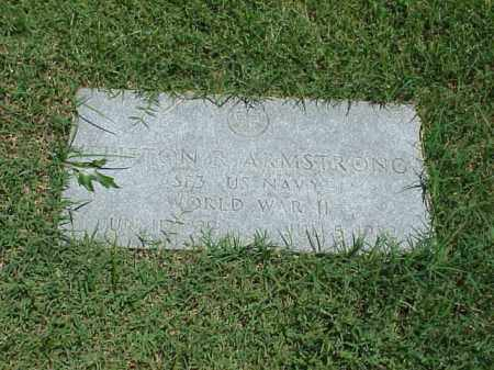 ARMSTRONG (VETERAN WWII), CLIFTON R - Pulaski County, Arkansas | CLIFTON R ARMSTRONG (VETERAN WWII) - Arkansas Gravestone Photos