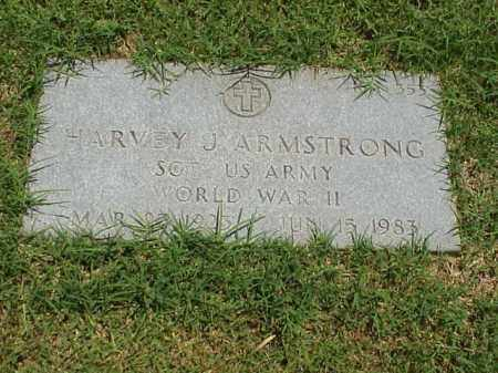 ARMSTRONG (VETERAN WWII), HARVEY J - Pulaski County, Arkansas | HARVEY J ARMSTRONG (VETERAN WWII) - Arkansas Gravestone Photos