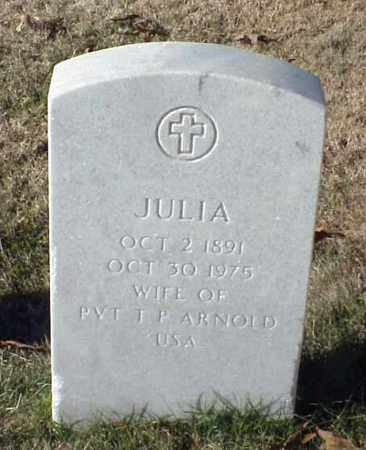 ARNOLD, JULIA - Pulaski County, Arkansas | JULIA ARNOLD - Arkansas Gravestone Photos
