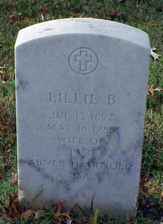 ARNOLD, LILLIE B. - Pulaski County, Arkansas | LILLIE B. ARNOLD - Arkansas Gravestone Photos