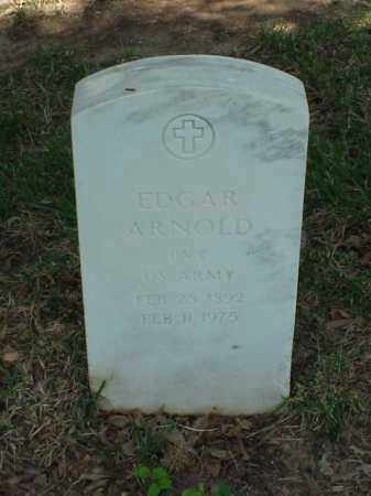 ARNOLD (VETERAN WWI), EDGAR - Pulaski County, Arkansas | EDGAR ARNOLD (VETERAN WWI) - Arkansas Gravestone Photos
