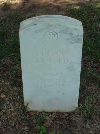 ARNOLD (VETERAN WWI), EDGAR - Pulaski County, Arkansas | EDGAR ARNOLD (VETERAN WWI) - Arkansas Gravestone Photos