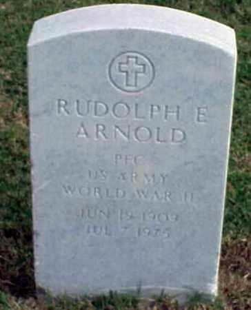 ARNOLD (VETERAN WWII), RUDOLPH E - Pulaski County, Arkansas | RUDOLPH E ARNOLD (VETERAN WWII) - Arkansas Gravestone Photos