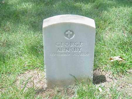 ARNSBY (VETERAN UNION), GEORGE - Pulaski County, Arkansas | GEORGE ARNSBY (VETERAN UNION) - Arkansas Gravestone Photos