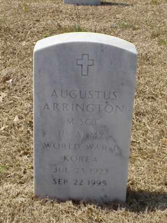 ARRINGTON (VETERAN 2WARS), AUGUSTUS - Pulaski County, Arkansas | AUGUSTUS ARRINGTON (VETERAN 2WARS) - Arkansas Gravestone Photos